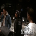 Lil Durk In The Studio With Chris Brown & Tyga