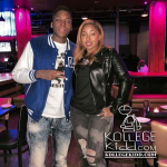 Dlow Has Dinner With 'Basketball Wives L.A.' Star Brittish Williams