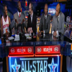 Que Dawgs Wreck Shaquille O'Neal's Post Game Interview With Tim Hardaway, Jr. During NBA All-Star Weekend
