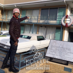 Spenzo Visits Location Of Dr. Martin Luther King, Jr.'s Assassination In Memphis