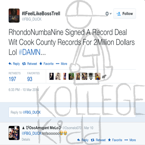 Fbg Duck Comments On Rondonumbanines First Degree Murder Charge