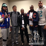 Lil Durk Hangs Out With Chicago Bulls Stars Derrick Rose & Joakim Noah