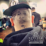 Fan Gets Lil Durk & OTF Haircut Design