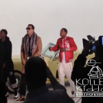 Lil Durk & OTF Nunu On Set Of French Montana's '88 Coupes' Music Video