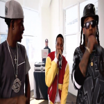 Lil Durk, Rich Homie Quan and Ty Dolla $ign Spit In XXL Freshman 2014 Cypher