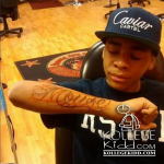 Lil Mouse Gets His First Tat