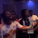 Lil Durk and Rowdy Rebel Cook Up Heat In The Studio
