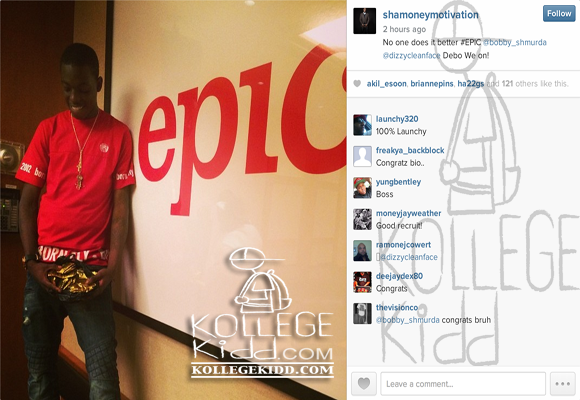 Bobby Shmurda Says Epic Records Deal Worth Over $1 Million   Welcome