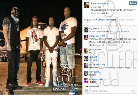 Otf Coke Boys Lil Durk and French Mo...