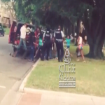 Girl Gets Jumped In Front Of Police In Chiraq