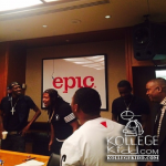 Rowdy Rebel Celebrates Epic Records Deal