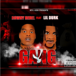 Rowdy Rebel Showcases Cover Art For New Single 'Gang' Featuring Lil Durk
