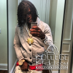 Chief Keef Proves Diamonds On Johnny Dang Pendant and Watch are Real