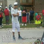 J. Cole Attends Mike Brown Protest