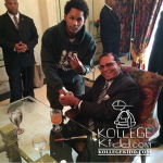 Louis Farrakhan Meets With Chiraq Artists