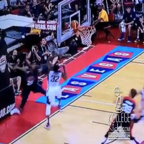 Paul George's Leg Snaps In Half During USA Basketball ...