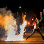 Brave Mike Brown Protester, Haiku, Documents Intense Face Off With Ferguson Police