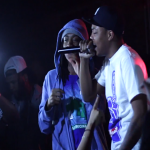 Lil Herb, King Louie and Katie Got Bandz Perform Live In Concert