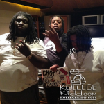 Bobby Shmurda's GS9 Affiliate, Rowdy Rebel, In The Studio With Young Chop