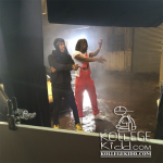 Chief Keef and Asap Rocky Stunt In Lamborghini In 'Superheroes' Video Shoot