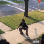 Ol School Playa Shows Off His Chris Brown Moves To Edai's '0 To 600' Song