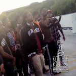 King Louie and DCYoungFly Film 'Lil N***a' Music Video In Chiraq