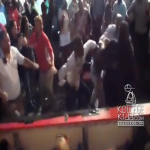 Rich Homie Quan and Entourage Jump Man At Adrien Broner and Emanuel Taylor Fight
