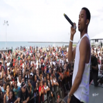 Spenzo Hits Basketball Court and Stage At Nike World Basketball Festival 2014