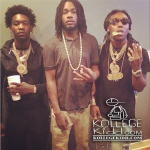 BossTop Hangs Out With Chief Keef's Rivals Migos While Wearing Johnny Dang Chain