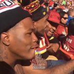 DCYoungFly Roots For Atlanta Falcons At Redskins/Titans Game