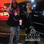 Lil Mouse and Shy Glizzy On Set of 'John Wall' Video Shoot