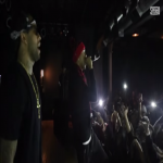Spenzo Performs With Ty Dolla $ign At Bottom Lounge