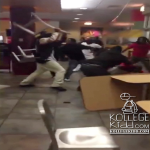 Goons Have WWE Chair Fight At Rock N Roll McDonalds Restaurant In Chiraq