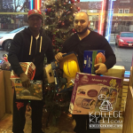 Team600's Famous Seven Donates Toys To Exclusive 773's Christmas Drive