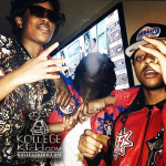 Chief Keef and Tadoe Coolin With Dej Loaf In NYC