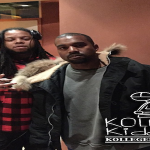 Kanye West and King Louie Link Up In Beverly Hills Studio For Some GOOD Music
