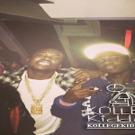 Chief Keef's Glo Gang Coolin At Meek Mill's Grammy After-Party