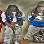King Yella, FBG Duck, Billionaire Black and Montana of 300 Film 'Clout Remix'