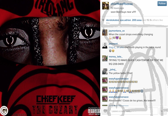Chief Keef Reveals Unreleased Music From 2013, Previews 'Go Get Me