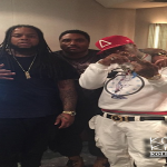 King Louie Hits Studio With Birdman and JoJo Capone