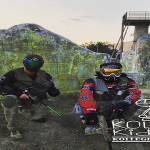 Chief Keef Goes Paintballin In The Field