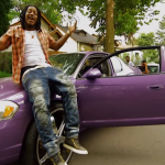 FBG Duck Is Sitting High In Purple Chevy Monte Carlo In 'Different Personalities Ntro' Music Video