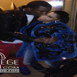 Nicki Minaj Twerks In Thong On Meek Mill's Back