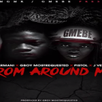 JP Armani, Pistol, GBoy MostRequested and J Vegas Tease 'From Around Me' During Studio Session