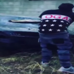 Chief Keef and Tadoe Destroy A Mercedes S550