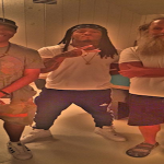 Montana of 300 Coolin With Def Jam Founders Russell Simmons and Rick Rubin