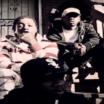 Rico Recklezz Coolin With Gang On The Stoop In 'Fajitas' Music Video