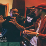Lil Herb aka G Herbo In the Studio With Timbaland