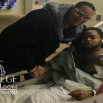 Minister Louis Farrakhan Visits King Louie In The Hospital