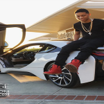 Lil Bibby Shows Off His New BMW i8